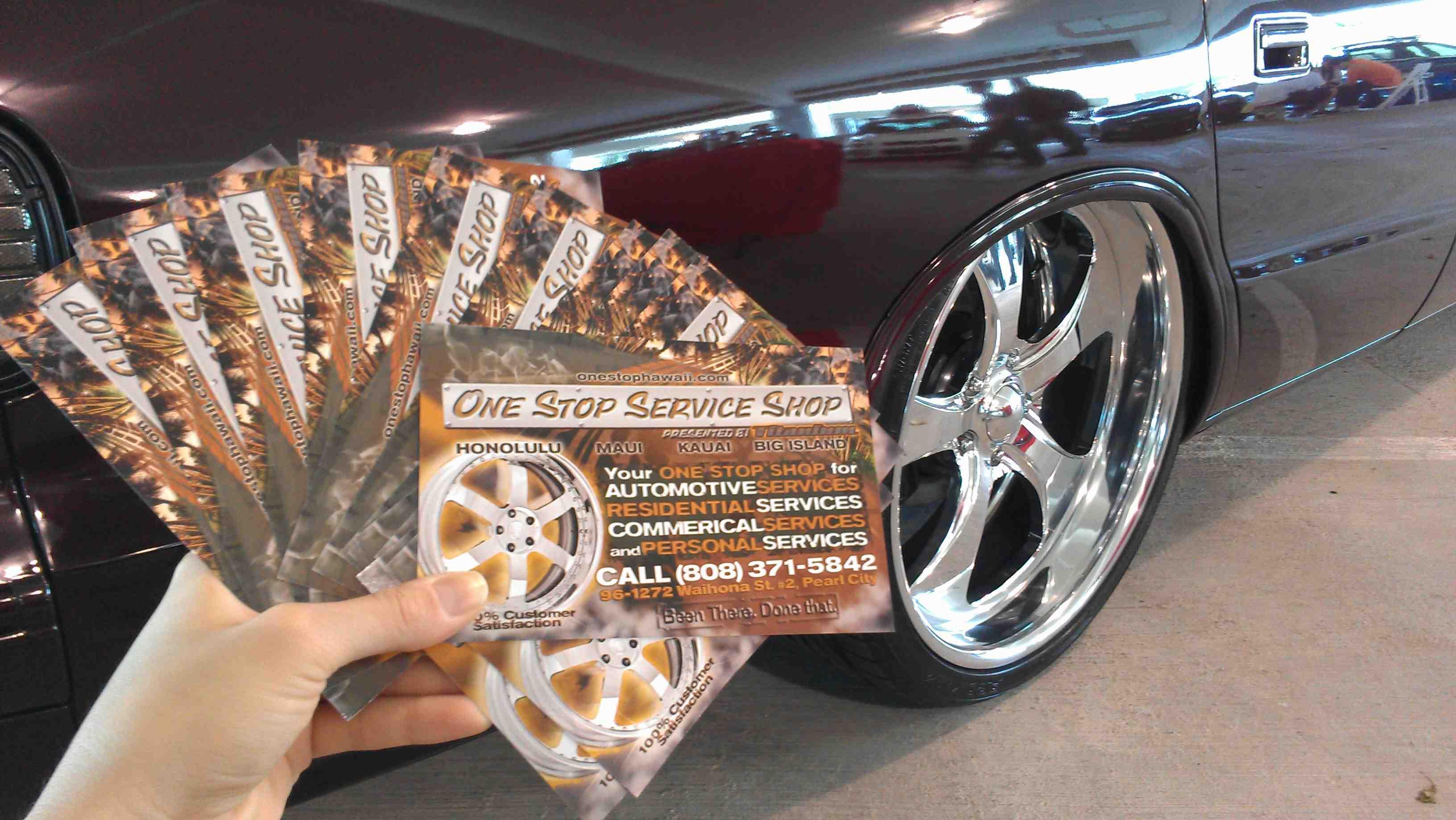 One Stop Titanium In Hawaii Rim Repair Automotive Personal